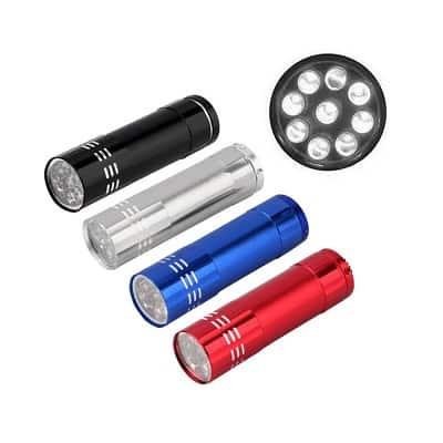 Linterna Mini 9 LED