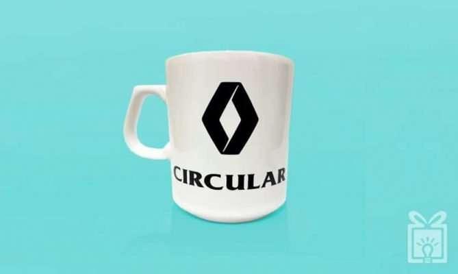 Taza Circular Renault