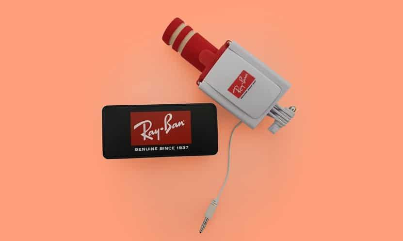 Selfie Stick Y Power Bank Ray Ban