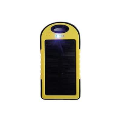 Power Bank Solar con logo